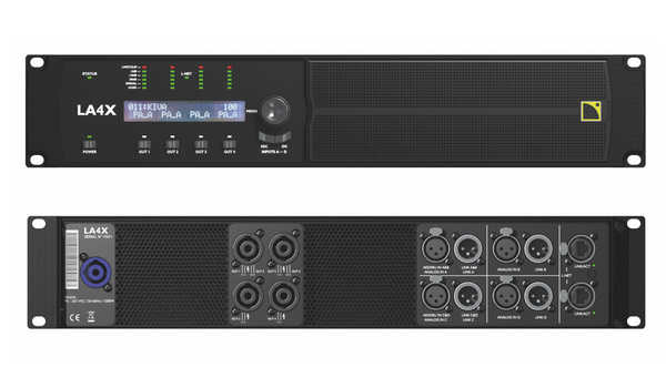L-Acoustics LA4X Amplified Controller
