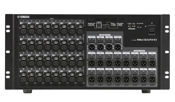 Yamaha Rio3224-D Digital Stage Box