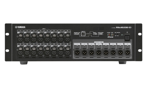 Yamaha Rio1608-D Digital Stage Box
