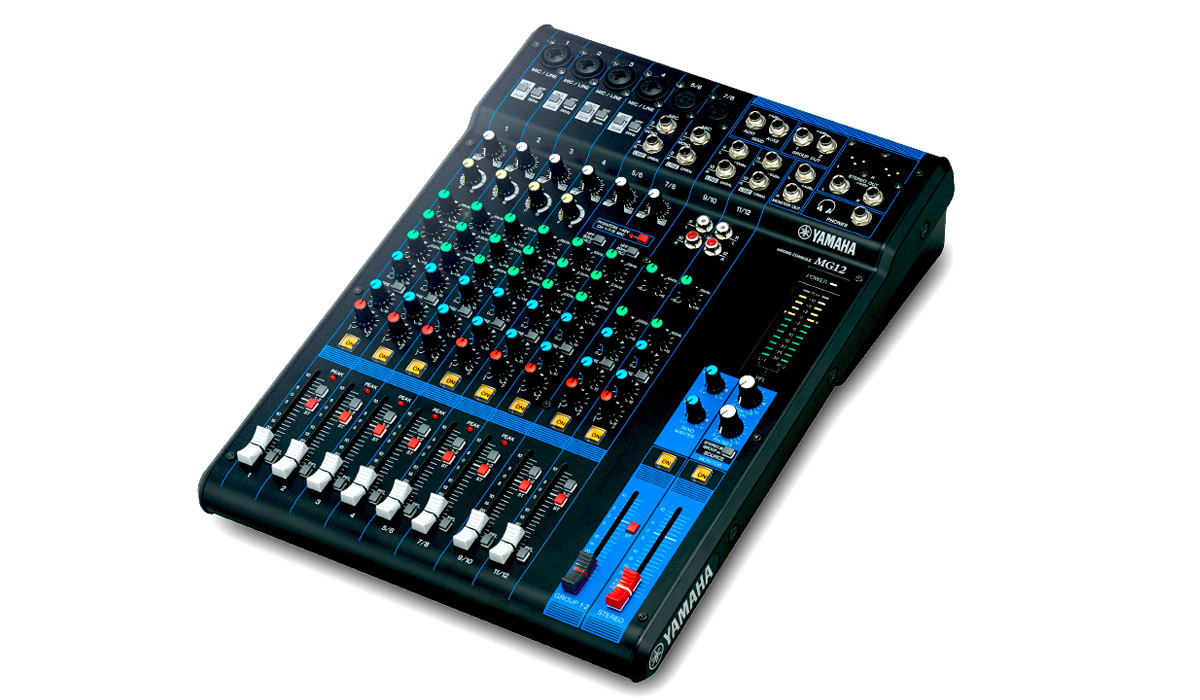 Yamaha Mixing Desk Mg Fx