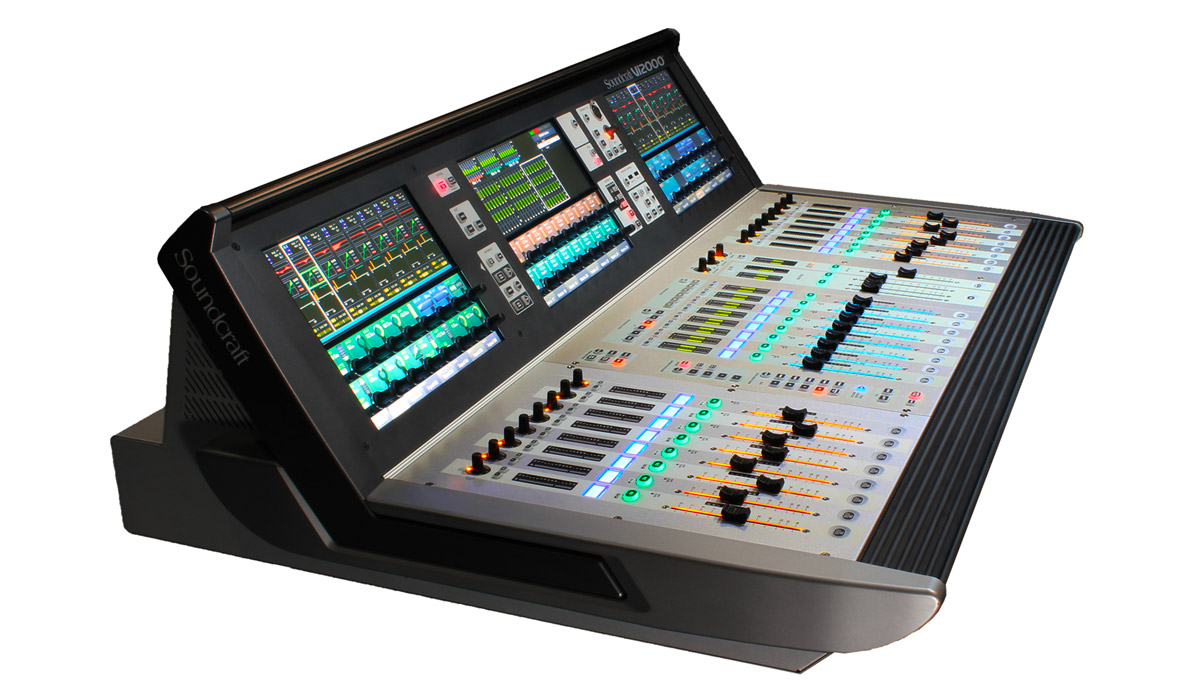 soundcraft vi2000 mixing console buy or hire uk adlib. Black Bedroom Furniture Sets. Home Design Ideas