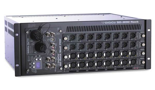 DiGiCo SD Mini Rack