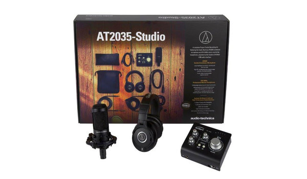 Audio Technica AT2035 Studio Recording Package