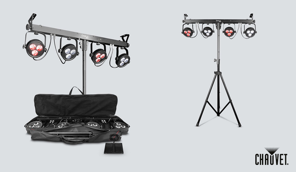 Chauvet 4BAR LT USB Package
