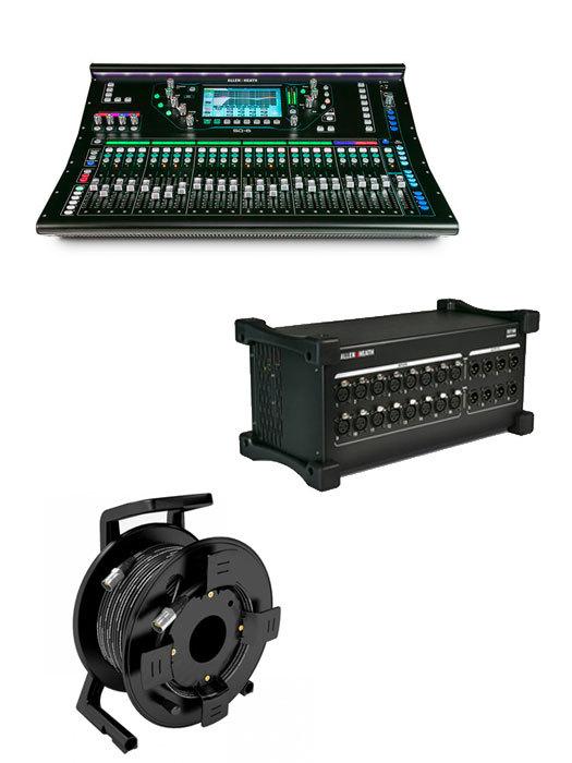 Buy Allen & Heath SQ6 Mixer Package