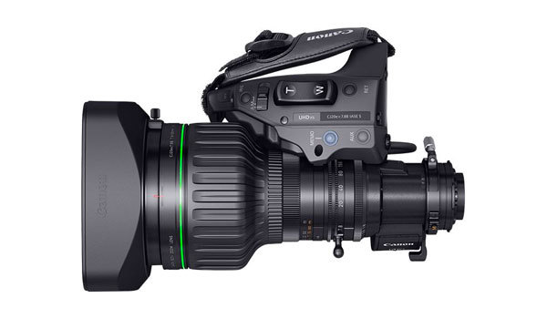 Canon CJ20ex7.88 4K Broadcast Lens Hire UK