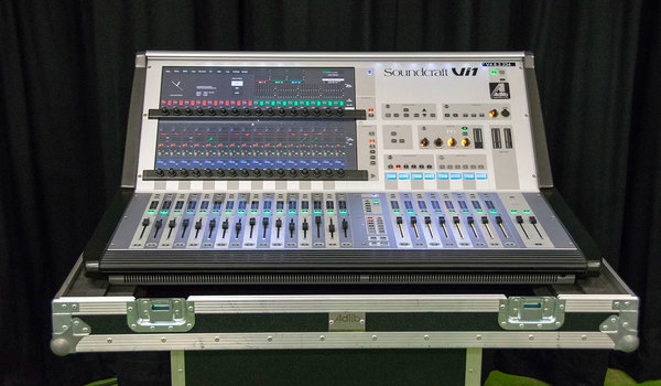Ex Hire Soundcraft Vi1