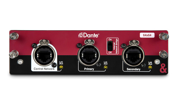 Allen & Heath Dante Audio Networking Card 64x64 Prices
