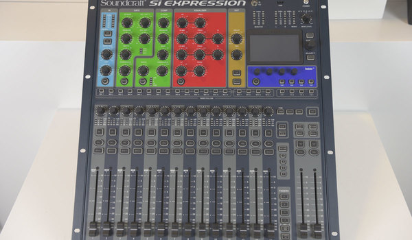 Ex Hire Soundcraft Si Expression 1