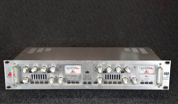 DBX 566 Dual Vacuum Tube Compressor Prices