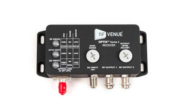 RF Venue OPTIX Series 3 Receiver
