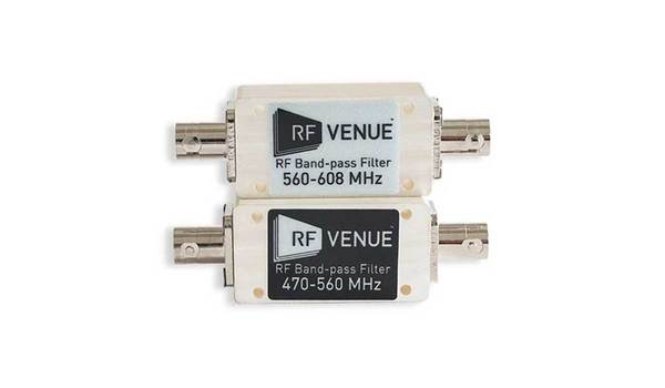 Buy RF Venue Band-pass Filters